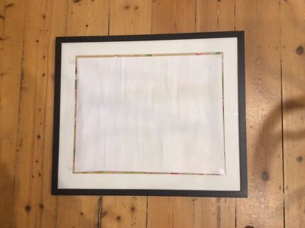 Large White Wooden Poster Frame Without Glass Picture Frames