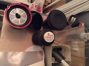 Darkroom- trays easels lightproof paper box air-out timer etc