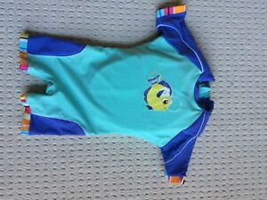 Speedo wet suit with life jacket 33 to 45 lb