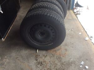 4 SUV winter tires and rims