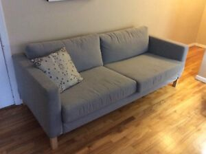 Gray Ikea couch pick up only