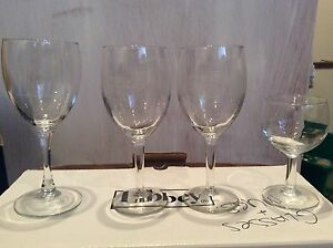 Various Glasses - Wine Glasses, Mugs, Drinking Glasses, More