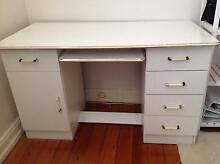 White Study Desk Mosman Mosman Area Preview