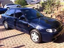 1999 Hyundai Excel Sedan Belrose Warringah Area Preview
