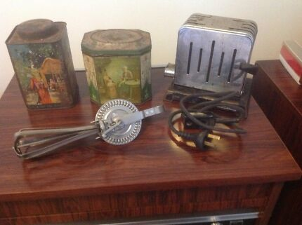 Four Antique items.