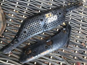 1973-1975 Honda XL250 Exhaust Heat Shield and Insulator