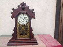 Antique chiming mantle clock Hawthorn Boroondara Area Preview