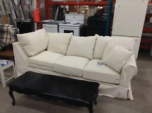 Beige cloth couch  $200