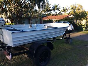 Boat, Trailer, 6hp Motor Arundel Gold Coast City Preview