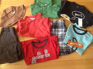 Size 4 boy summer lot