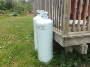 100 litre propane tanks from Costco (filled and never used)