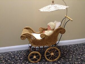 Antique Doll Pram