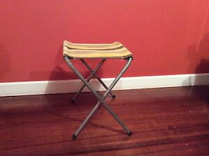 FOLD-UP CANVAS STOOL Newstead Launceston Area Preview