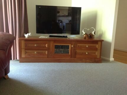 Handcrafted Blackwood Television unit