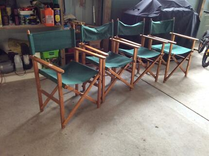 Director's Chairs - set of 4 Moriac Surf Coast Preview