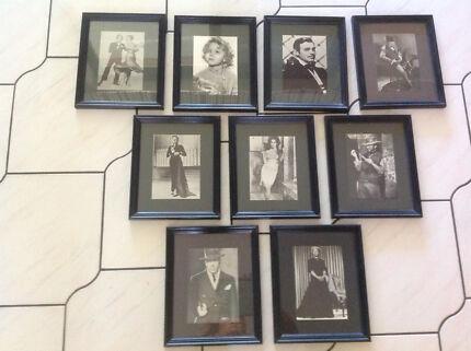 9 photos and frames