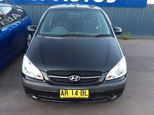 2007 Hyundai Getz Automatic 5 Door Hatchback Cardiff Lake Macquarie Area Preview