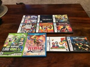 Wii U and DS Games