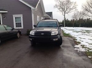 2005 Toyota Limited 4Runner $6500.00