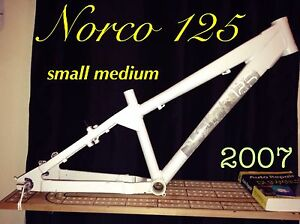Norco 125 mountain bike frame only!!!