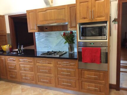Timber kitchen with appliances Tarragindi Brisbane South West Preview
