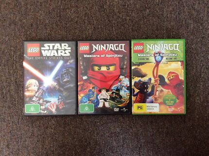 Lego DVDS:Star Wars, Ninjago