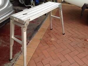 ALUMINIUM TRESTLE PLANK FOLDABLE LEGS Beechboro Swan Area Preview