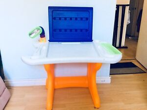 Kid Educational Art Master Desk with chair