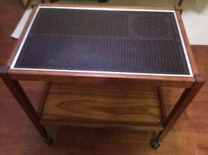 Trolly with hot plate. Price lowered , $55, P.U. Lawrence,