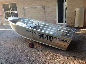 Seajay HS Nomad 3.5 and American 15 hp mercury 2 stroke outboard Tin Can Bay Gympie Area Preview
