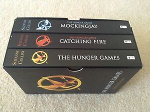The Hunger Games book trilogy box set Heathridge Joondalup Area Preview