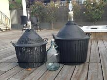 Demijohn wine bottles Doubleview Stirling Area Preview