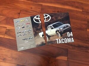 Two sales brochures 04 Tacoma