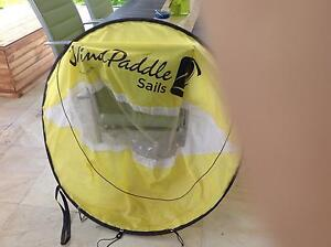 Wind paddle sail. Choice of yellow or red Lennox Head Ballina Area Preview