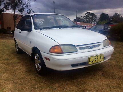 1994 Ford Festiva 4 Cyl Auto Hatch Low Kilometers 3 months Rego