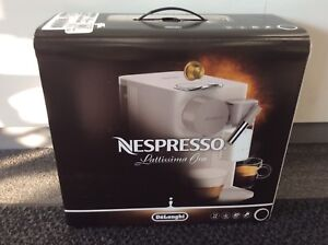 Nespresso Lattissima One Mocha Brown - Brand New