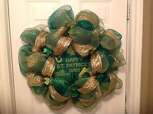 Happy St. Patrick's Day Wreath