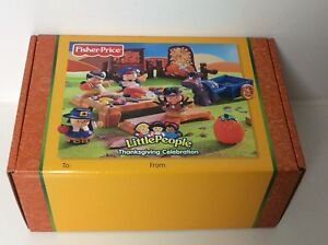 Fisher Price Little People Thanksgiving Celebration play set