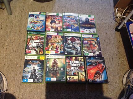 X box360 and 24 games