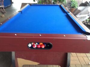 Billiard table Klemzig Port Adelaide Area Preview