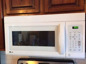 LG over-the-range Microwave *barely used*