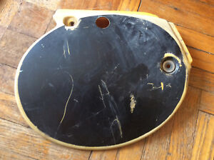 1979 Yamaha YZ250 YZ400 Right Side Cover Number Plate