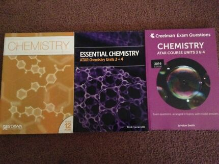 Chemistry Textbooks ATAR