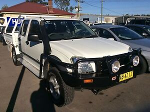 2004 Holden Rodeo LX 4x4 Turbo Diesel dual cab tray back Sandgate Newcastle Area Preview