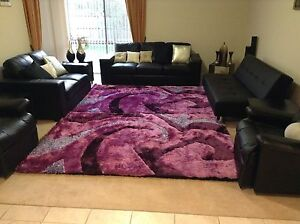 Brand New Designer Shaggy Rug  160cm X 230cm Purple Color Narre Warren South Casey Area Preview