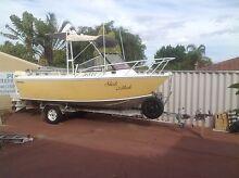 Westerberg plate aluminium fishing and pleasure craft Marangaroo Wanneroo Area Preview
