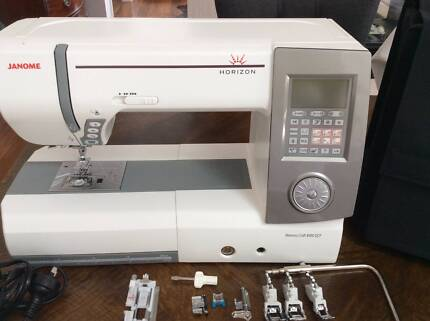JANOME MC8900 QCP COMPUTERISED SEWING MACHINE Bowral Bowral Area Preview