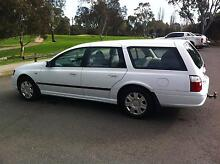 2007 EB MKII Ford Falcon Wagon factory gas Kingsville Maribyrnong Area Preview