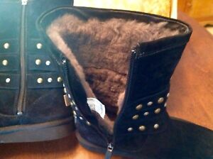Authentic Jimmy Choo Designer Ugg Boots Size 8 (Brand New)