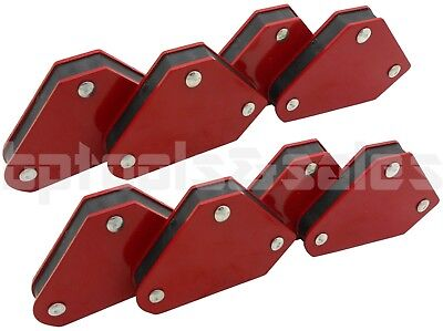 8 Welding Arrow Magnet Set Mini Weld Holder Up To 10lbs 45 90 Or 135 Degrees